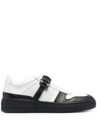 Shop white 1017 ALYX 9SM colour block buckle strap sneakers with Afterpay - Farfetch Australia