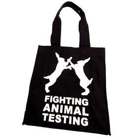 lush fight animal testing bag
