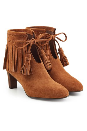 Irina Suede Ankle Boots Gr. IT 37