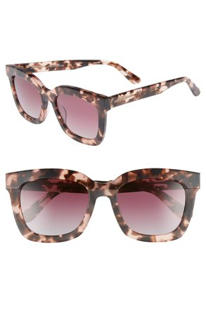 DIFF Carson 53mm Polarized Square Sunglasses | Nordstrom