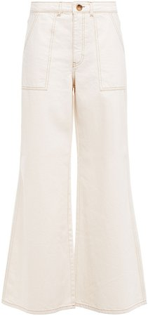 Bluebell High-rise Wide-leg Jeans