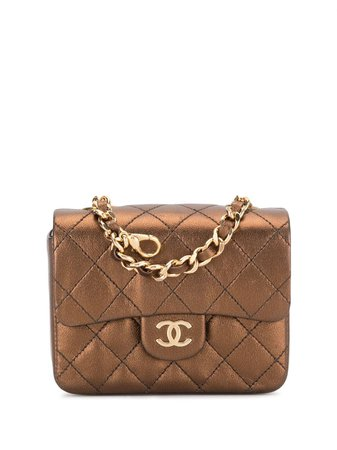 Chanel Pre-Owned 1994 Mini Diamond Quilted Tote Vintage   Farfetch.Com
