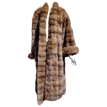 Gianfranco FERRÉ Haute Couture Wild Russian Whole Skins Barguzinsky Sable Fur For Sale at 1stdibs