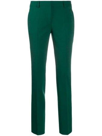 Alberto Biani Slim-Fit Trousers CC800WO0241 Green | Farfetch