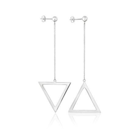 Silver earrings Toysbytsoy