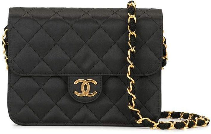 Pre-Owned diamond quilted shoulder bag