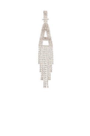 retrofete Alphabet Earring in Silver | REVOLVE