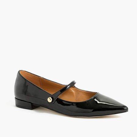 Mary Jane pointy-toe flats