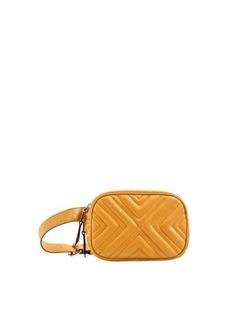 MANGO Quilted belt bag