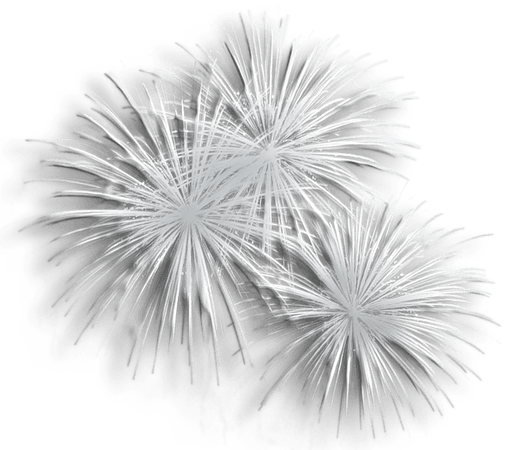 Fireworks silver