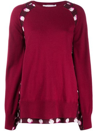 Stella McCartney layered-effect Jumper - Farfetch