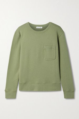Cotton-jersey Sweatshirt - Army green