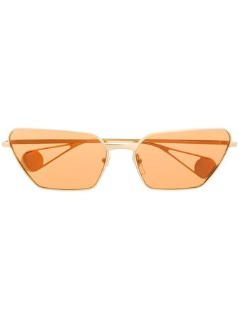 Gucci Eyewear Cat Eye Sunglasses - Farfetch