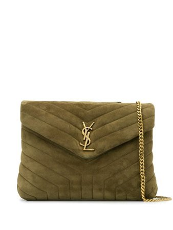 Saint Laurent Loulou Quilted Shoulder Bag - Farfetch
