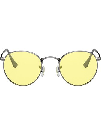 Ray-Ban Round Metal Tinted Sunglasses - Farfetch