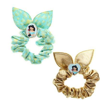 Faixas de cabelo elásticas, Jasmine, Disney Princess (conjunto de 2)