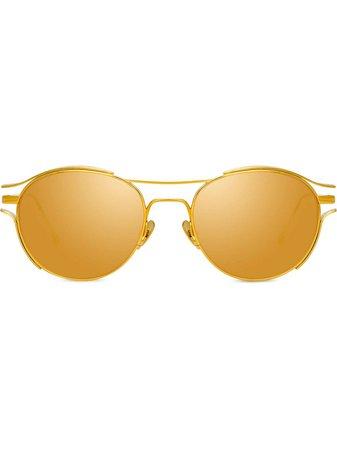 Linda Farrow Violet C1 Sunglasses