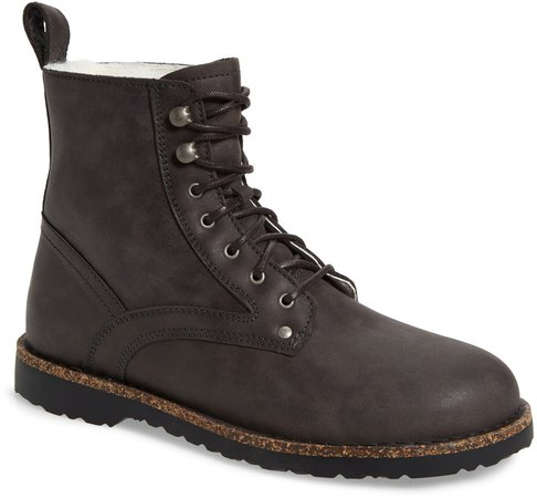 Bryson Genuine Shearling Lined Boot
