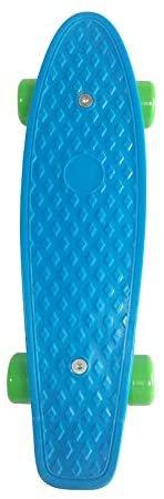Amazon.com : SK8MEMO 17X5inch Kids Skateboard, Mini Skateboard for Beginners (Blue)…… : Sports & Outdoors