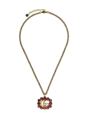 Gucci Double G Necklace 605895I4769 Gold | Farfetch