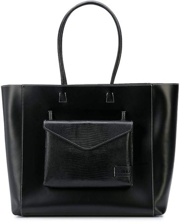 top-handle shopper tote