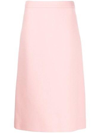 Prada Midi A-Line Skirt
