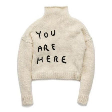 """You Are Here"" Sweater"