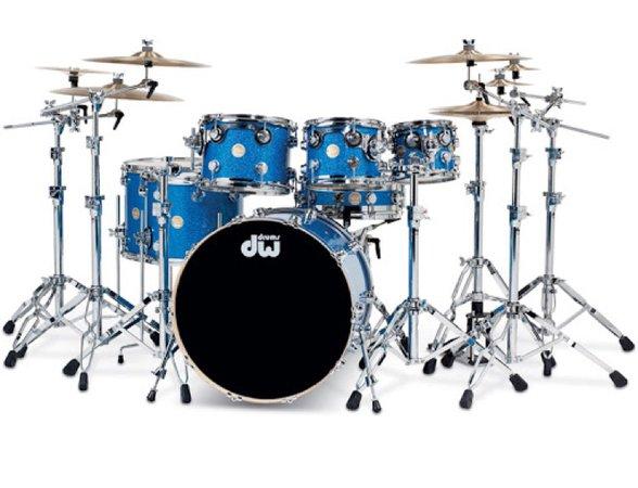 Blue Drumset