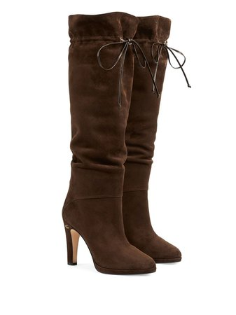 Gucci Double G knee-high Boots - Farfetch