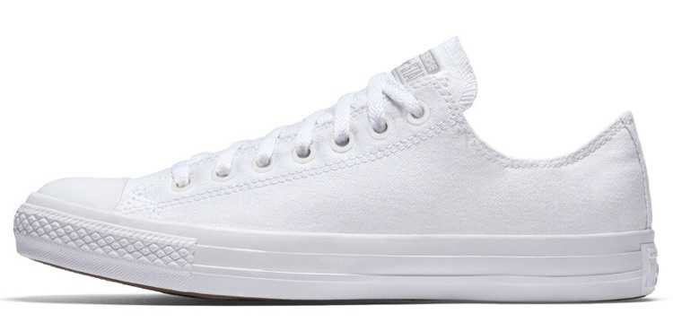 white low top chuck taylors