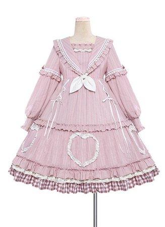 pink Lolita dress