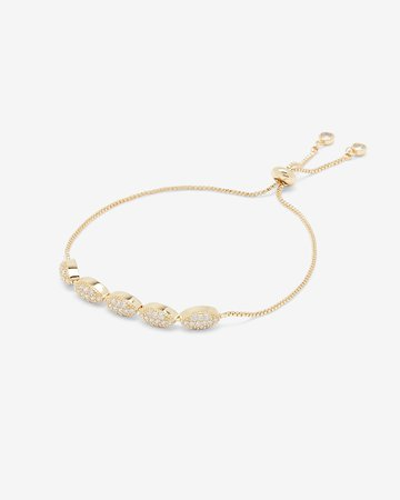 Five Stone Pull-cord Bracelet   Express