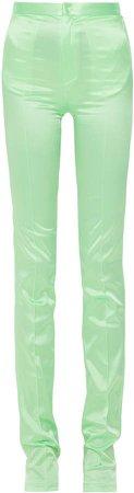 Mach & Mach Lime Green Pants
