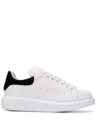 Shop white Alexander McQueen Oversized low-top sneakers with Afterpay - Farfetch Australia