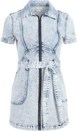 Gorgeous Zip Up Mini Dress