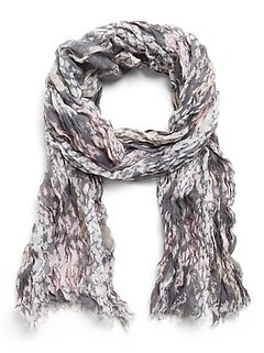 Metallic Lightweight Rectangular Scarf | Banana Republic