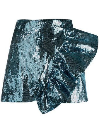 dark teal skirt