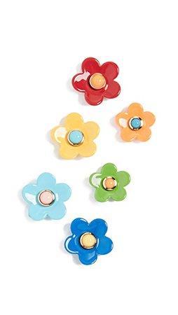 Roxanne Assoulin Flower Power Set of Stud Earrings | SHOPBOP
