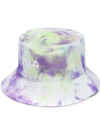Fila Tie-Dye Bucket Hat 686085 Purple | Farfetch