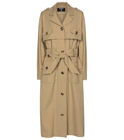 Balmain - Trench coat | Mytheresa