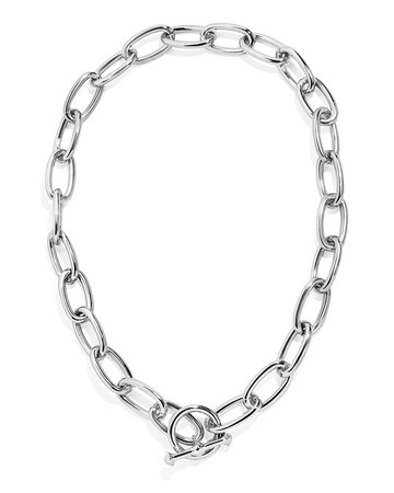 BaubleBar Link Necklace with Toggle
