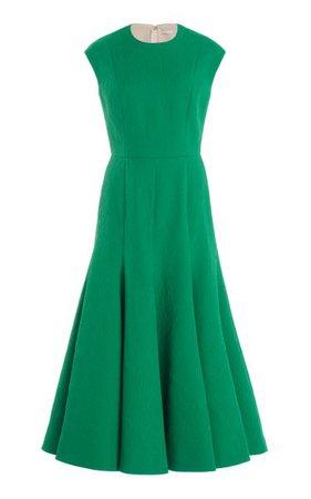 Denver Textured Crepe Midi Dress By Emilia Wickstead | Moda Operandi