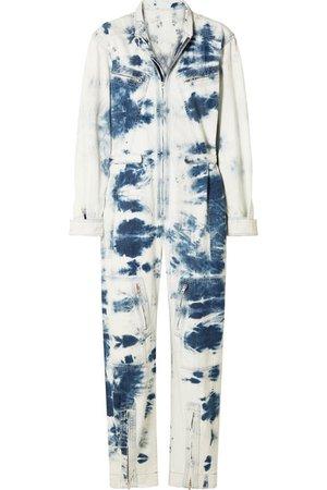 Stella McCartney | Combi-pantalon en jean tie & dye | NET-A-PORTER.COM