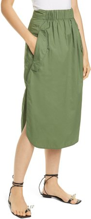 Featherweight Cotton Twill Skirt