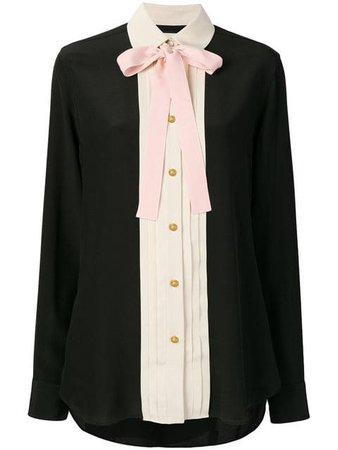 Gucci Silk Necktie Shirt - Farfetch