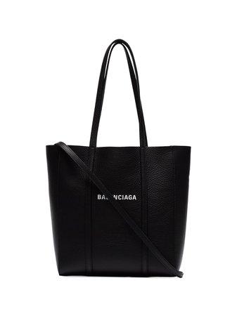 Balenciaga Black Everyday XS Leather Tote - Farfetch