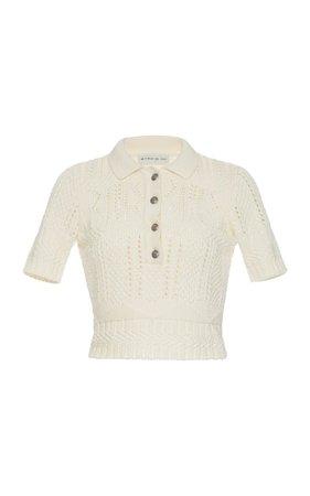 Knitted Short Sleeve Top by Etro | Moda Operandi