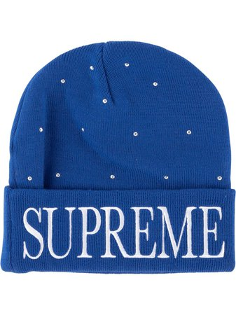 Supreme Studded Beanie Hat - Farfetch