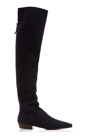 The Row Slouchy Flat Boots