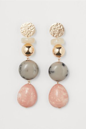 Long Earrings - Gold-colored - Ladies | H&M US